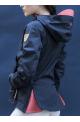 Veste element horse pilot femme marine/xs