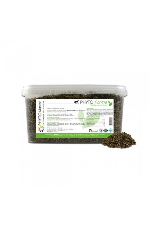 Phyto forme pour chevaux