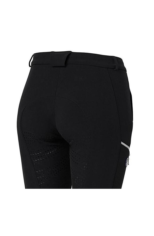 Pantalon doublé polaire frost noir/34f