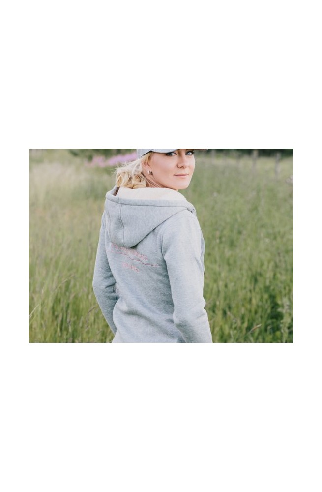 Sweat hoodie house of horse gris/xs