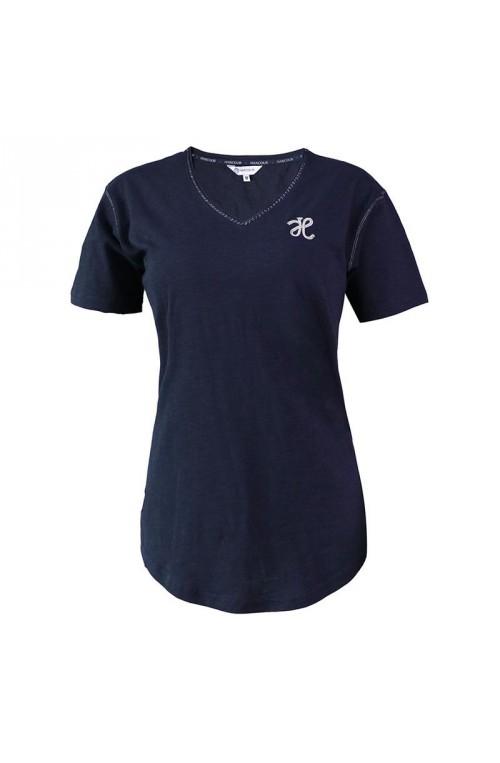 Tee shirt harcour cassie azur/s