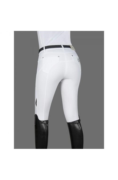 Pantalon equiline lory blanc/38