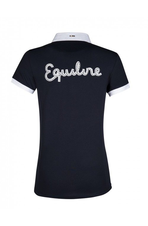 Polo de concours Equiline Femme Sage