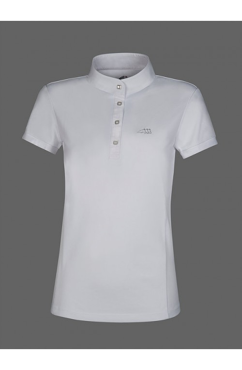 Polo equiline femme sage marine/s