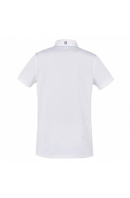 Polo kingsland wadley blanc/s