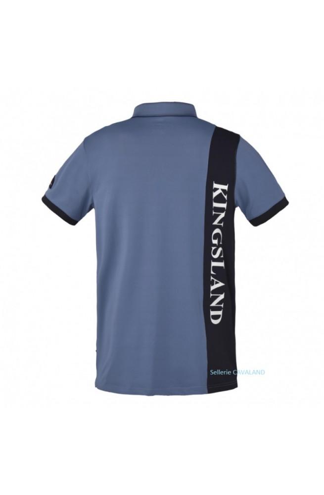 Polo kingsland brunswick bleu/s