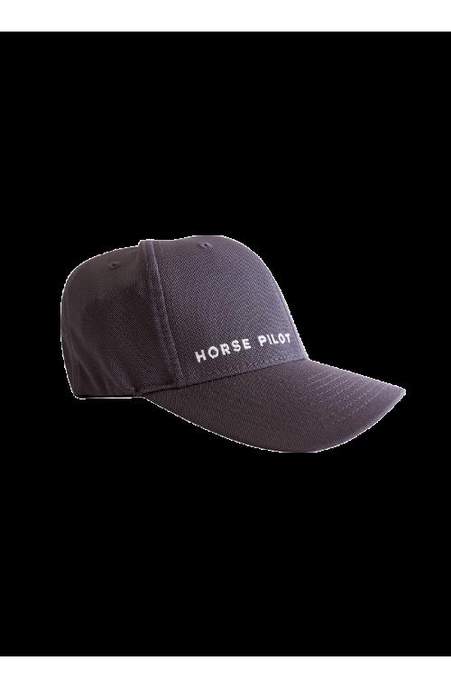 Casquette horse pilot gris/s