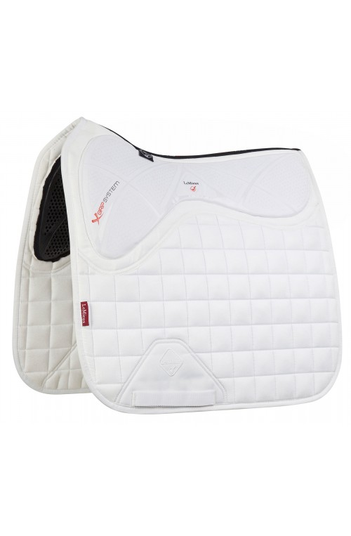 Tapis x grip twin dressage blanc