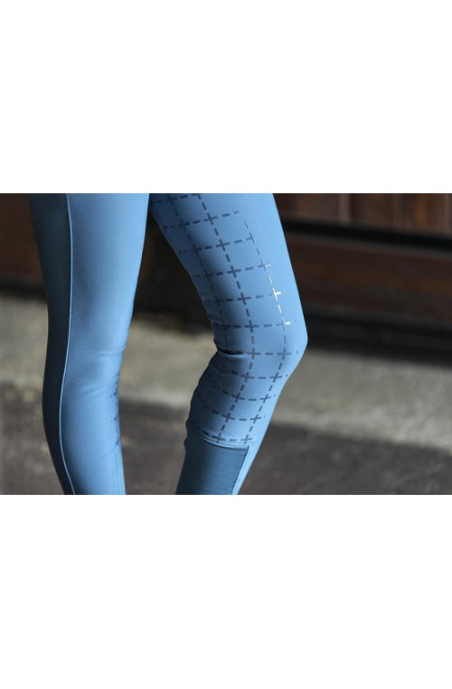 Pantalon horze desiree bleu petrole/34f