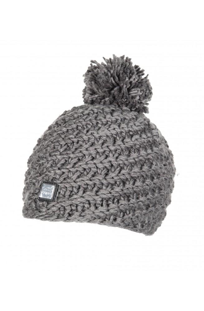 Bonnet equiline twist gris/unique