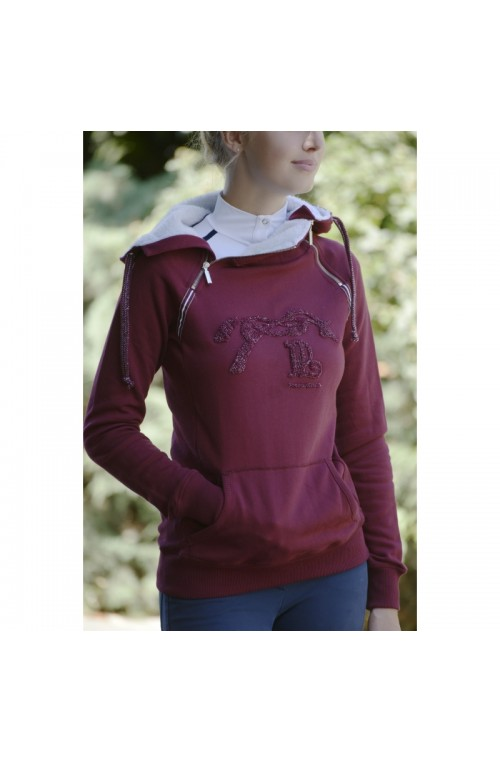 Sweat Double Zip Penelope Leprevost