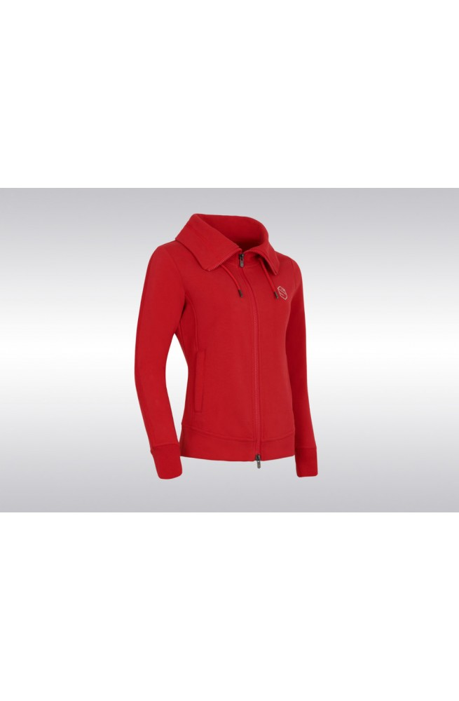 Sweat swarovski samshield rouge/xs