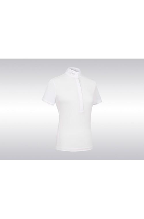 Polo samshield philomène blanc/xs