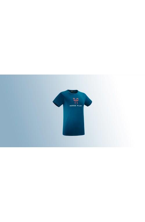 T shirt Team Horse Pilot homme