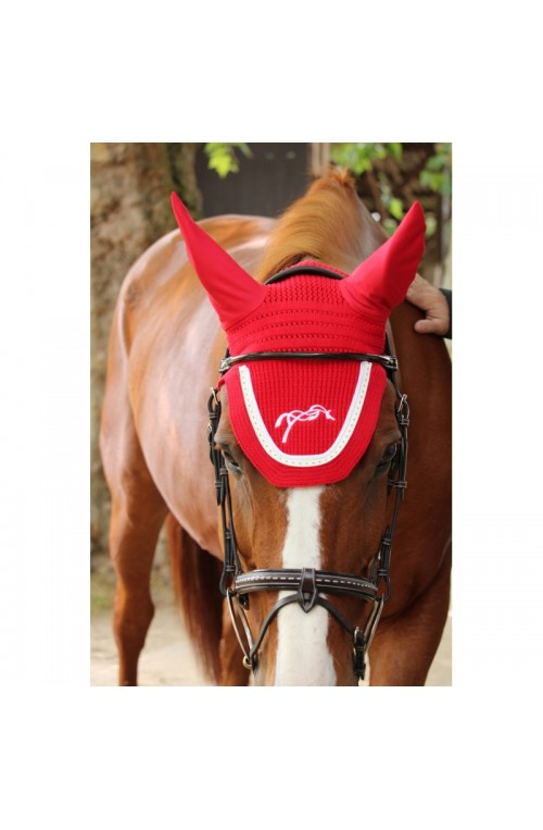 Bonnet penelope point sellier bleu b electrique/full
