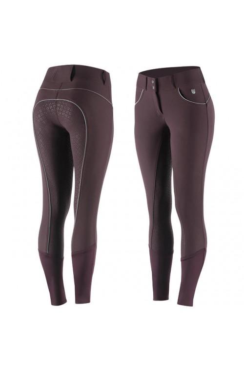 Pantalon horze lucia prune/36f