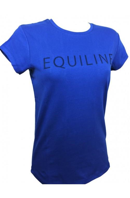 T shirt equiline zoe bleu roi/xs