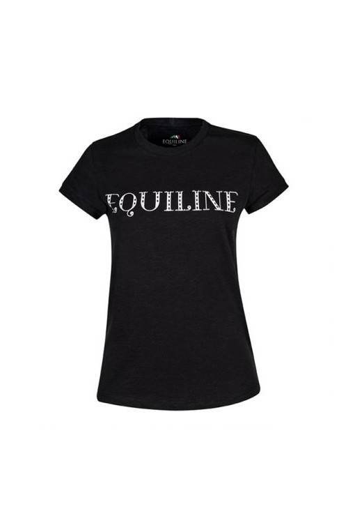 T shirt equiline angel noir/s