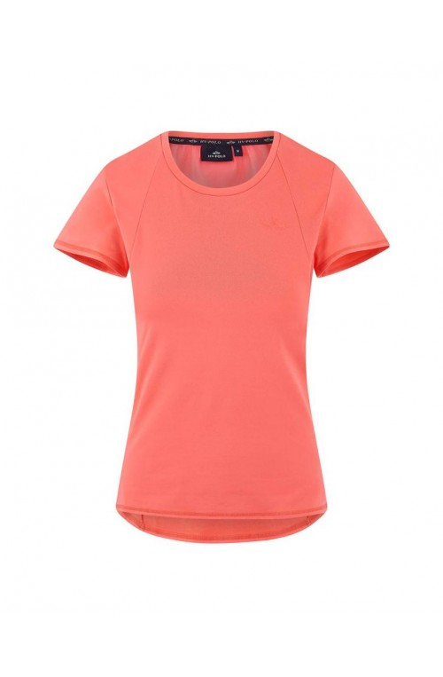 T shirt hv polo sandy corail/s