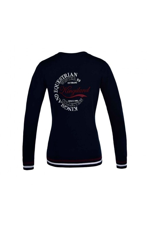 Sweat kl sudbury femme marine/s