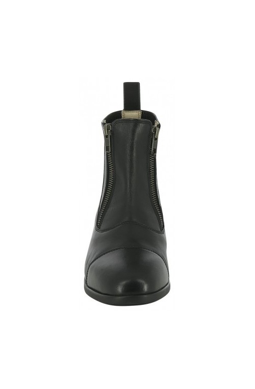 Boots equi thème double zip noir/36