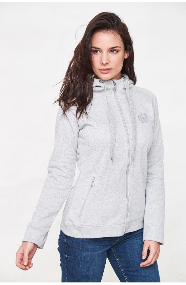 Sweat harcour lucie gris chine/s