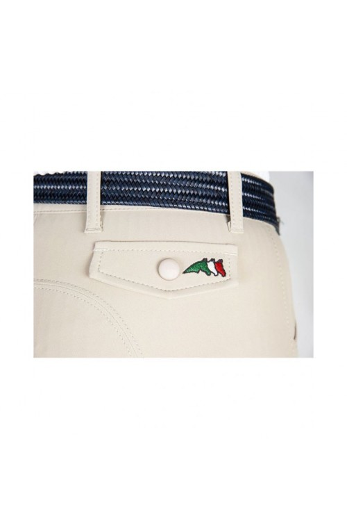 Pantalon equiline franzi blanc