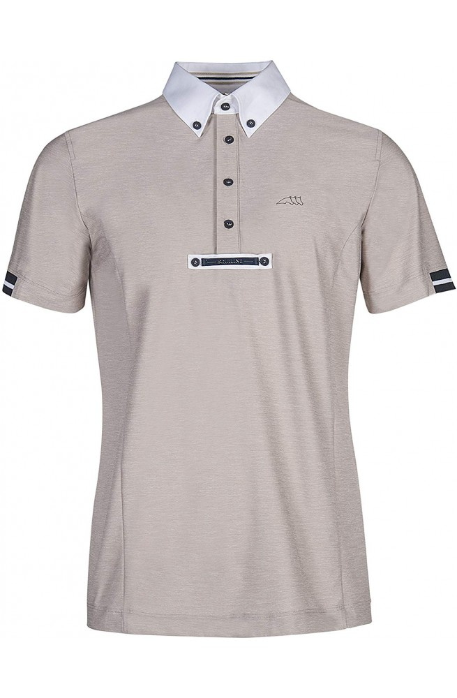 Polo Equiline Vick Homme Beige