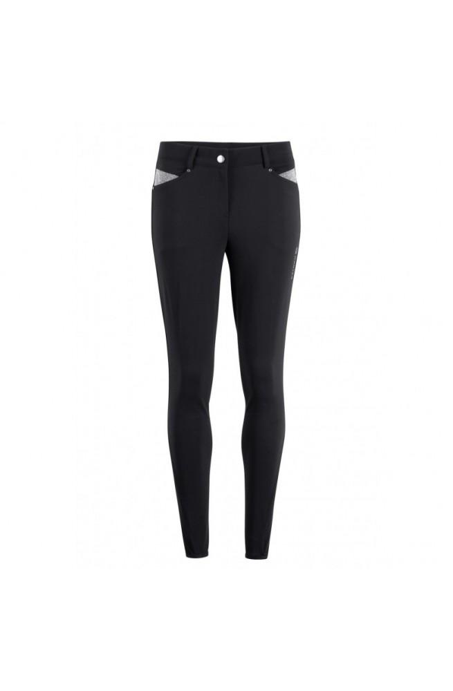 Pantalon montar paisley noir/38