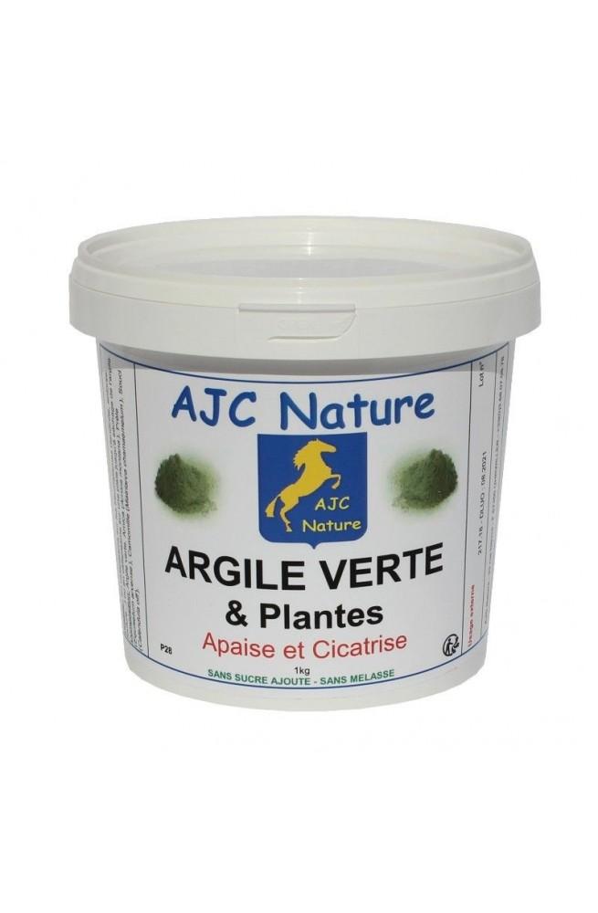 Argile Verte Et Plantes Ajc Nature