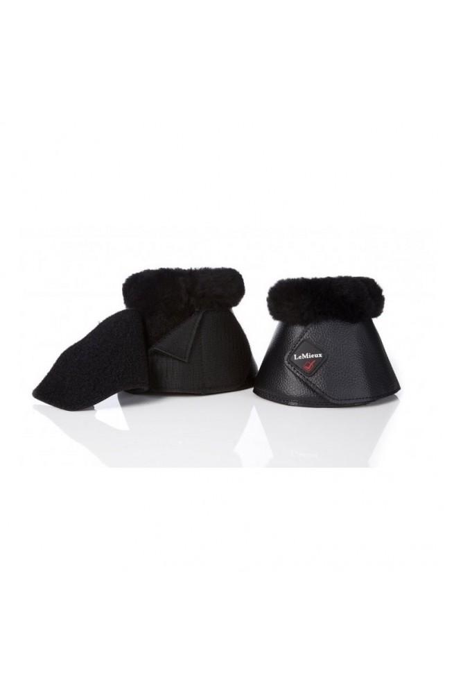 Cloches lemieux cuir+mouton noir/s