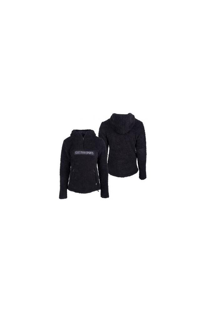 Sweat qhp teddy hoodie noir/34