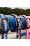 Ceinture kingsland braided bleu/80