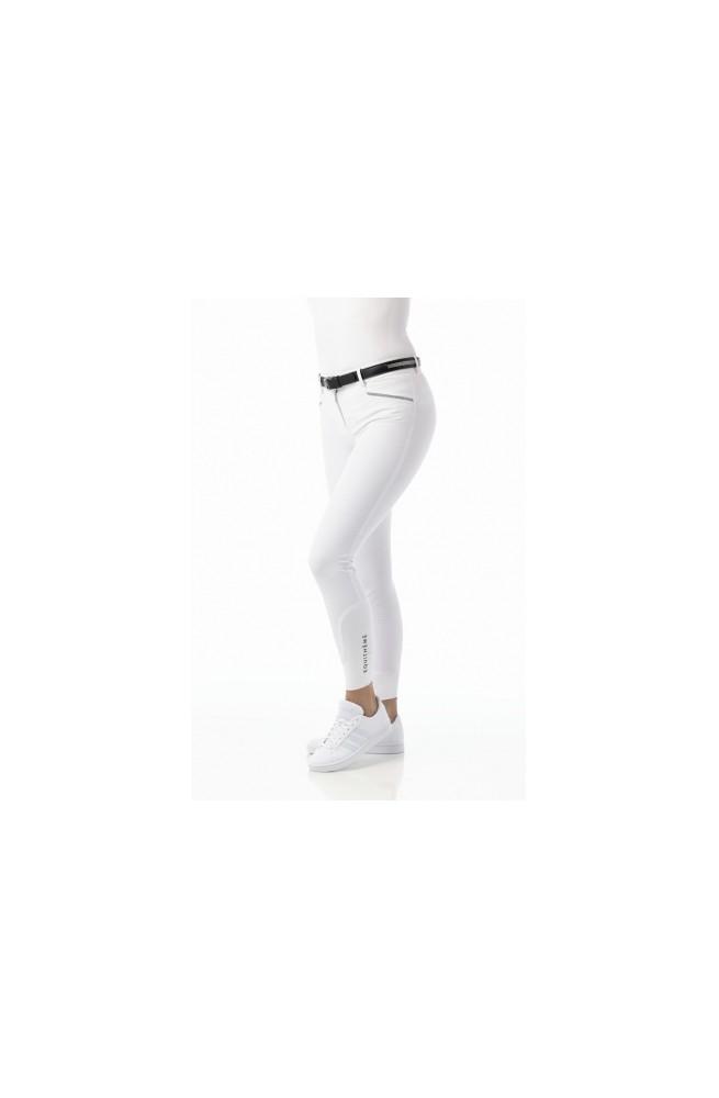 Pantalon equitheme gizel blanc/34f