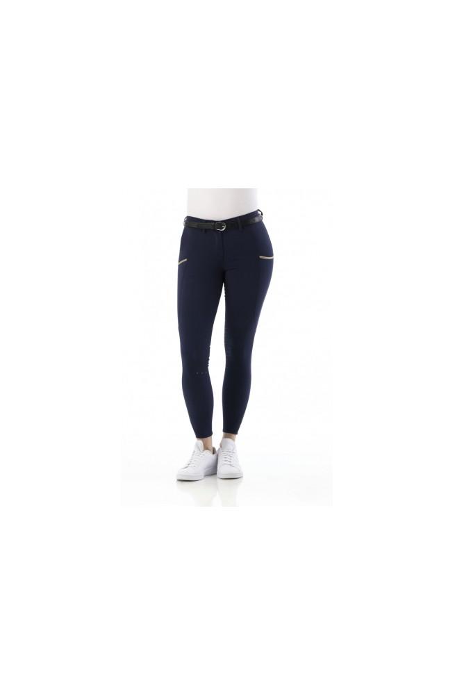 Pantalon equitheme lainbow marine/10