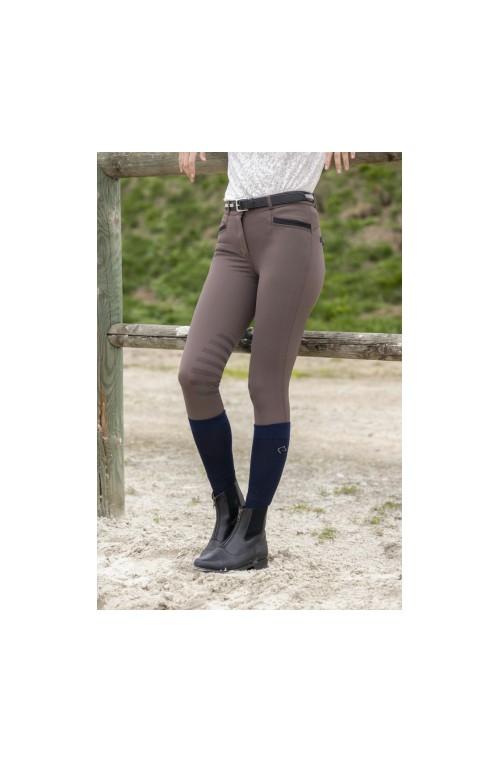Pantalon equitheme safir brun noir/34