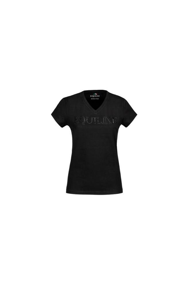 T shirt equiline genesis noir/xs