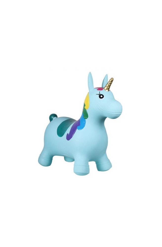 Jumpy unicorn qhp light blue/unique