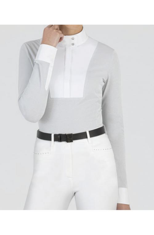 Polo de concours gardeg femme gris/xs