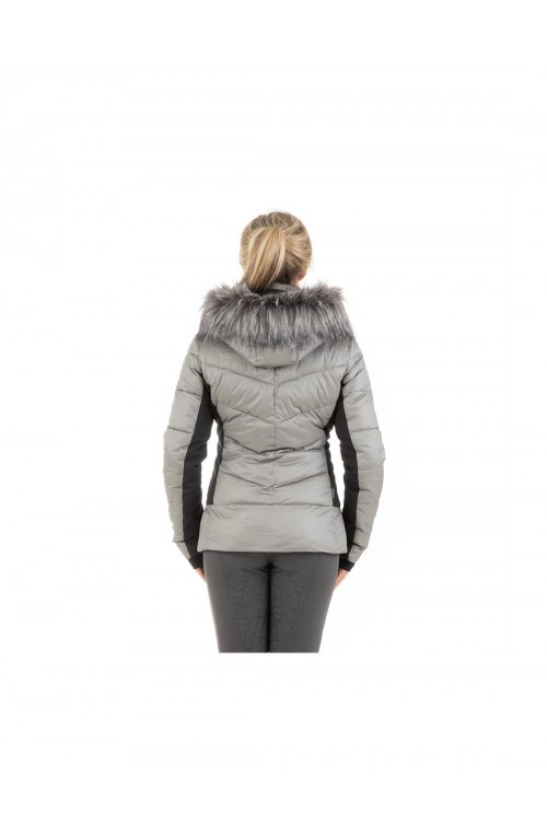 Doudoune anky quilted silver/s