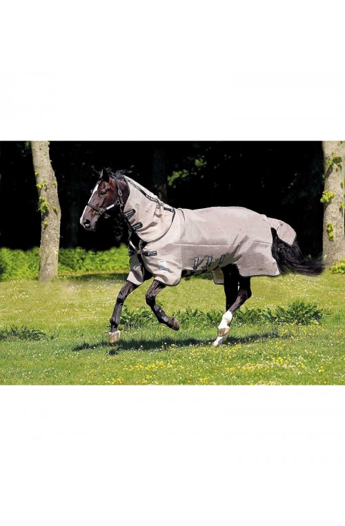 Rambo flybuster vamoose - Couverture anti mouche cheval Horseware