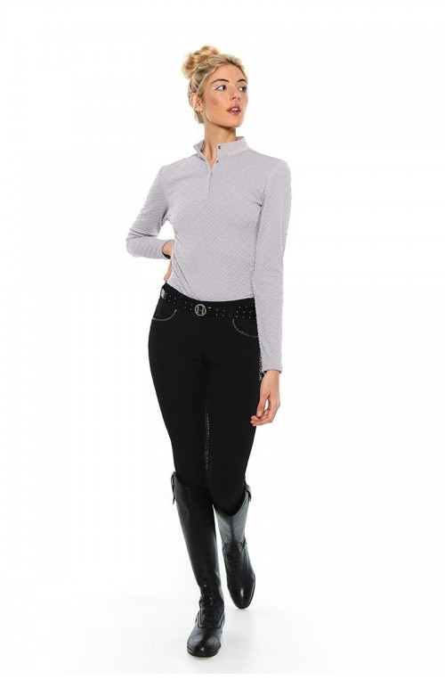 Polo harcour charade gris/xs