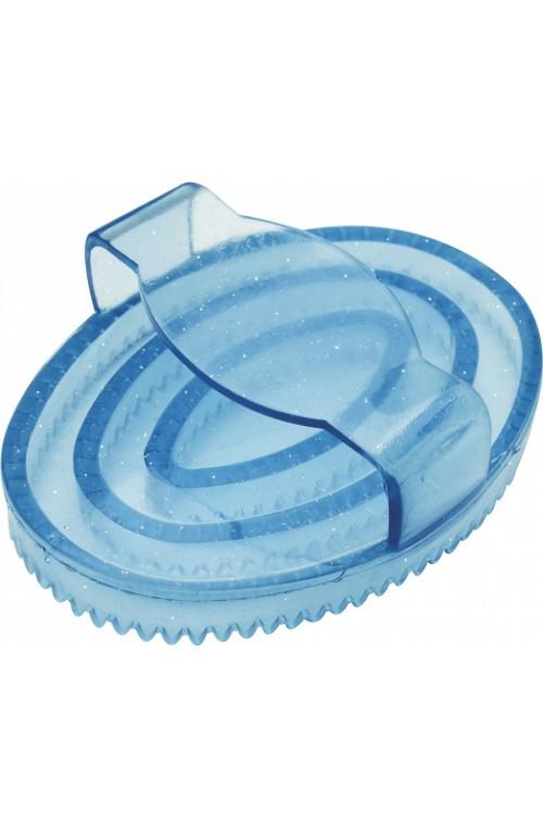 Étrille ovale à paillettes Hippo-Tonic